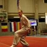 Open Flanders Wushu Cup 2013 - Janno met Tai Chi Waaier